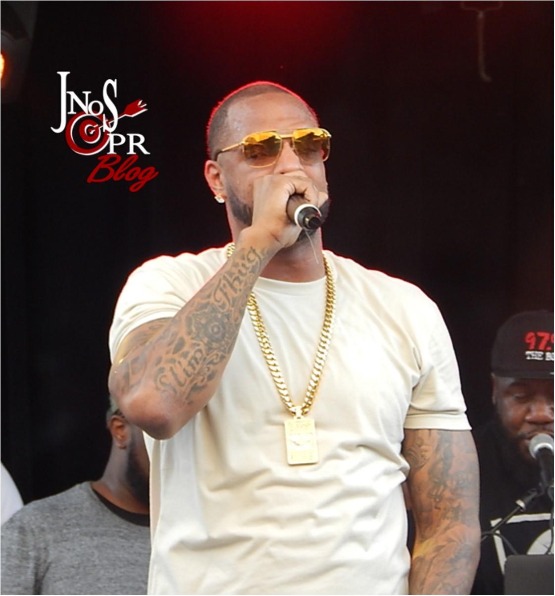 Slim Thug Performing at SXSW