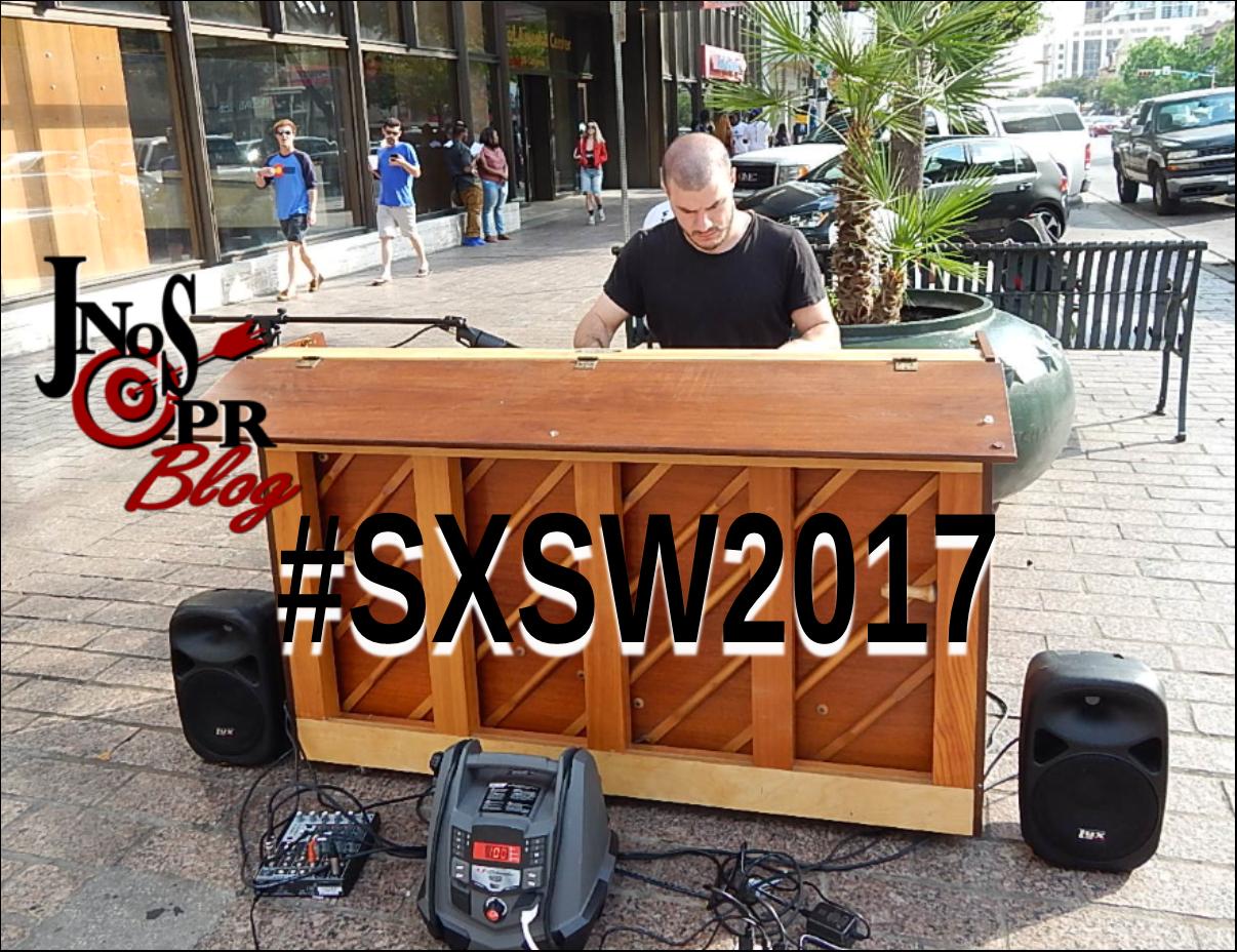 SXSW Piano In the street