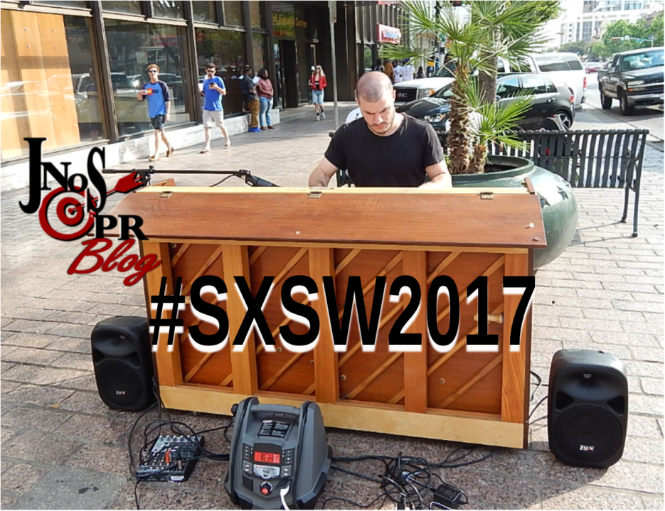 SXSW Piano In the street