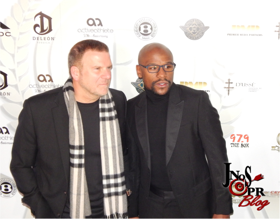 Floyd Mayweather and Tillman Fertitta